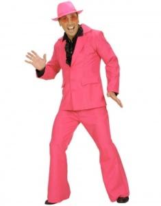 mann i rosa dress